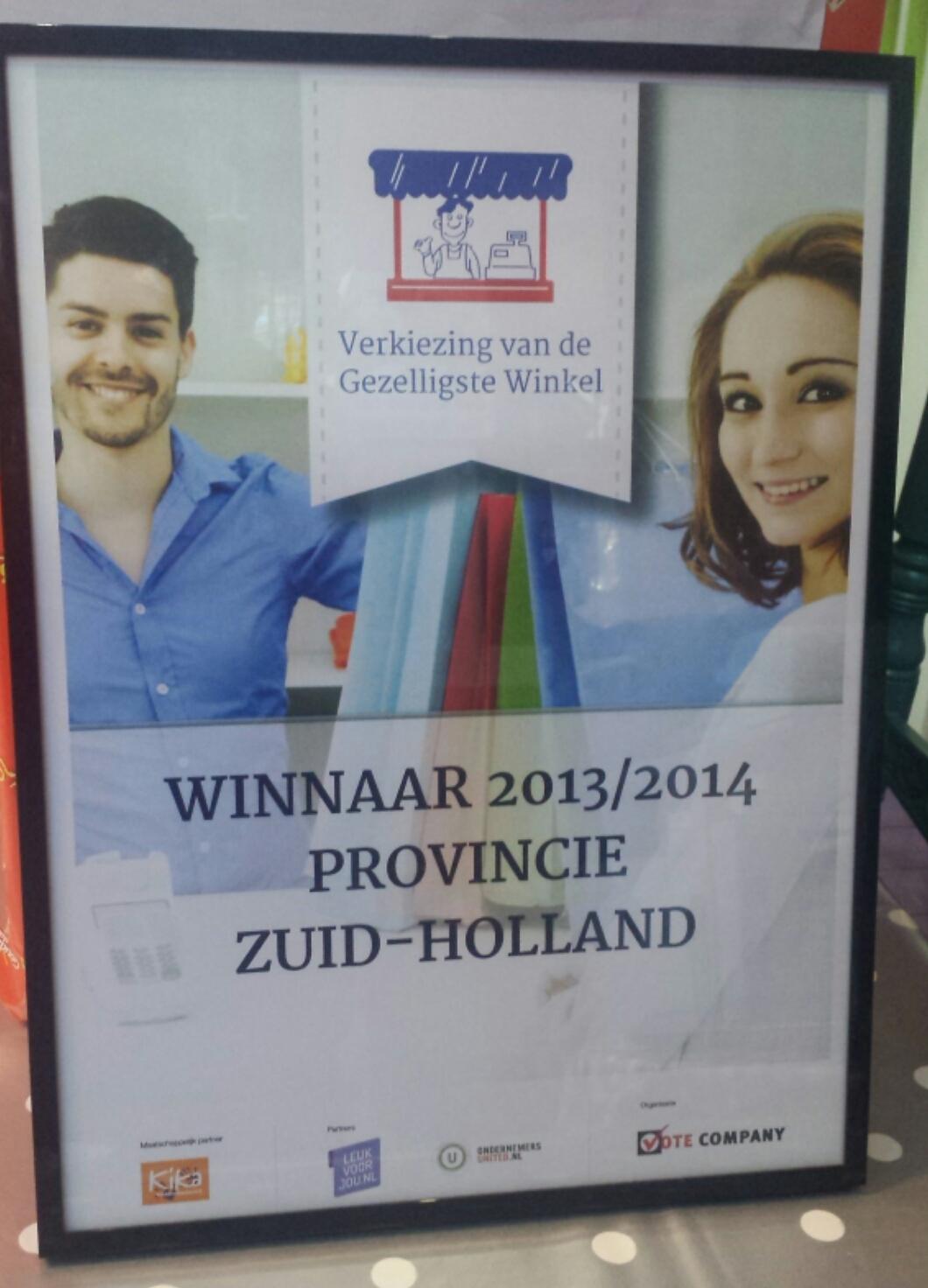 Verkiezing Gezelligste Winkel van Gouda (en Zuid Holland…) 2015