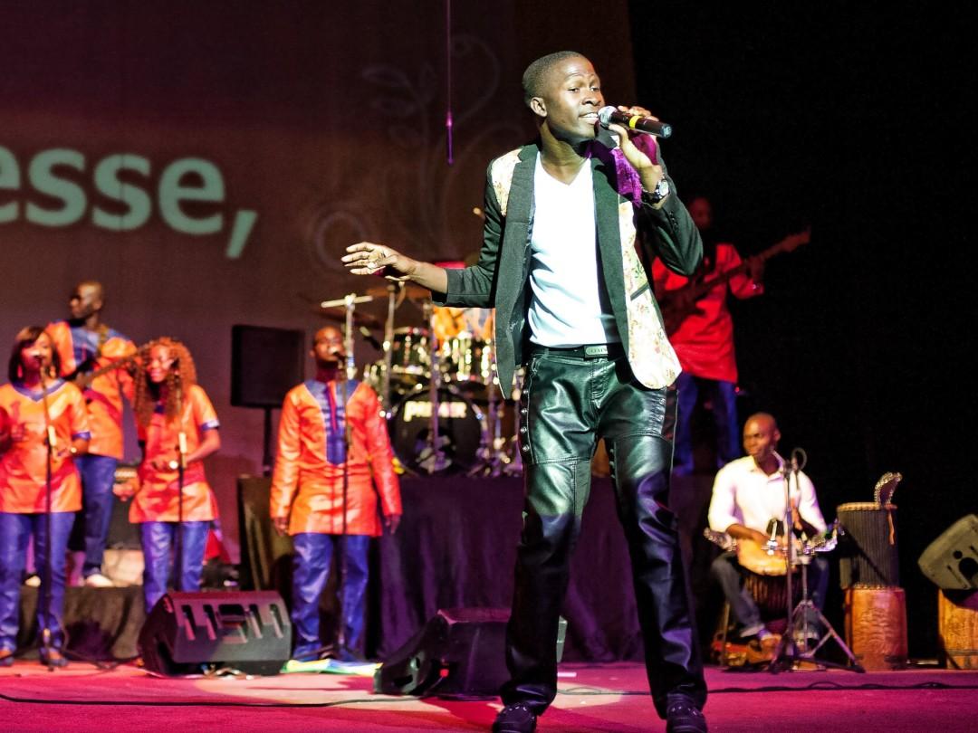 Senegalese gospelzanger Cissa komt naar Gouda