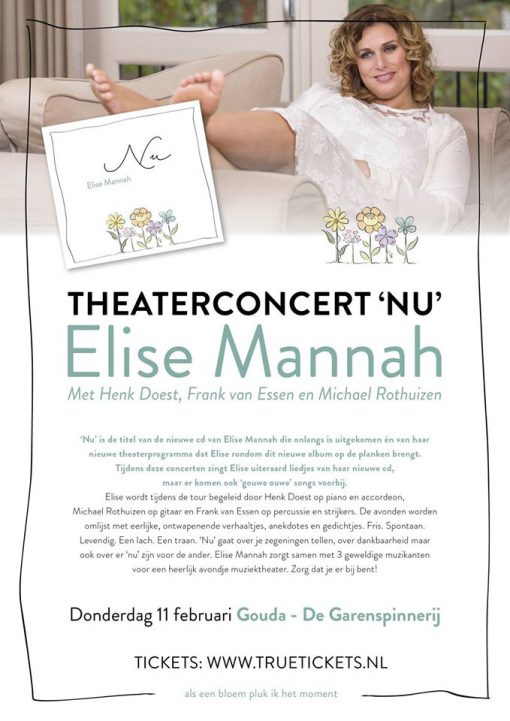 Elise Mannah Presentatieconcert CD NU