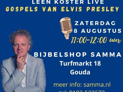 Leen Koster zingt Elvis Gospels